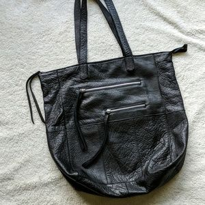 Anthropologie Day & Mood Black Heather Tote